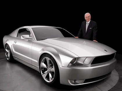 2009 Ford Mustang - 45th anniversary - silver edition for Lee Iacocca 2