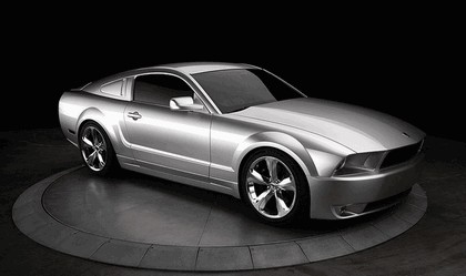 2009 Ford Mustang - 45th anniversary - silver edition for Lee Iacocca 3