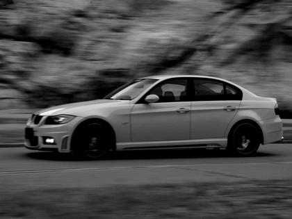 2009 BMW 3er ( E90 ) Sports Line aero-kit by Wald 3