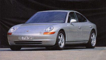 1989 Porsche 911 ( 989 ) sedan concept 1