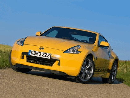 2009 Nissan 370Z Yellow 2