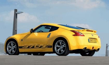 2009 Nissan 370Z Yellow 5