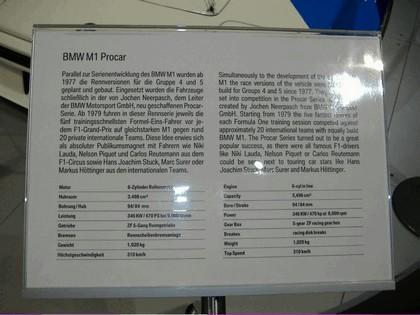 1979 BMW M1 ( E26 ) Procar 51