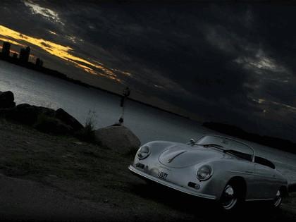 1956 Porsche 356A 1600 super speedster 9