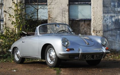 1956 Porsche 356A 1600 super speedster 10