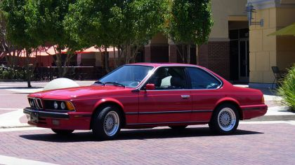 1978 BMW 635 csi ( E24 ) - USA version 8
