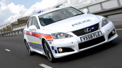 2009 Lexus IS-F - UK Police Car 5