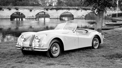 1954 Jaguar XK 140 roadster 6