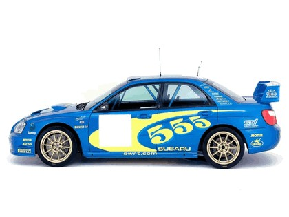 2003 Subaru Impreza WRC 3