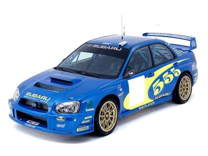2003 Subaru Impreza WRC 4