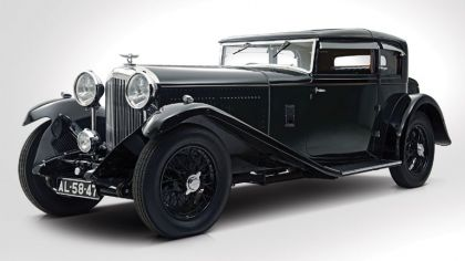 1932 Bentley 8 Litre Short Chassis Mayfair Fixed Head Coupé 9