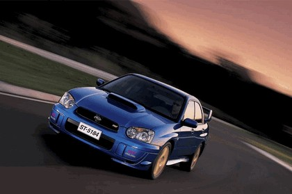 2003 Subaru Impreza WRX STi 1