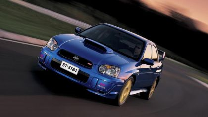 2003 Subaru Impreza WRX STi 4