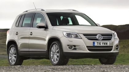 2008 Volkswagen Tiguan - UK version 1