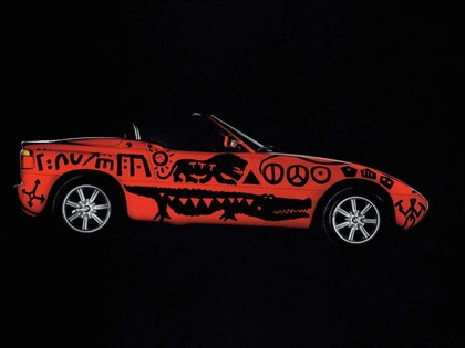 1991 BMW Z1 ( E30 ) Art Car by A.R. Penck 5