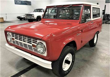 1966 Ford Bronco 8