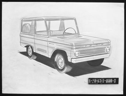 1966 Ford Bronco 125
