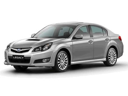 2009 Subaru Legacy 2.0d sport sedan - European version 1