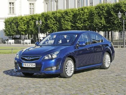 2009 Subaru Legacy 2.5i sport sedan - European version 4