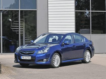 2009 Subaru Legacy 2.5i sport sedan - European version 5
