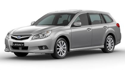 2009 Subaru Legacy 2.5i sw - European version 2