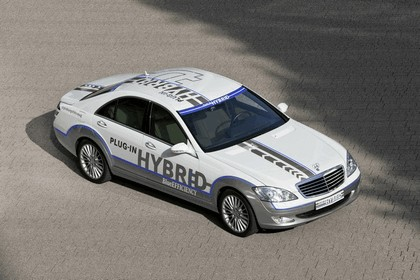 2009 Mercedes-Benz S500 plug-in hybrid concept 5