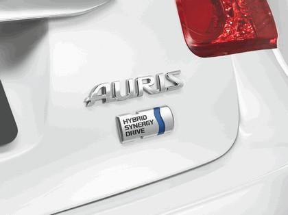 2009 Toyota Auris HSD full hybrid concept 9