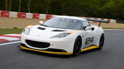 2009 Lotus Evora type 124 endurance racecar 3