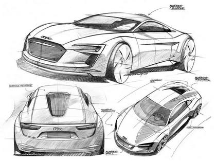 2009 Audi R8 e-Tron concept 26