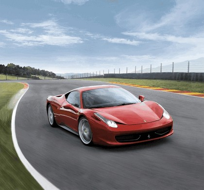 2009 Ferrari 458 Italia 10