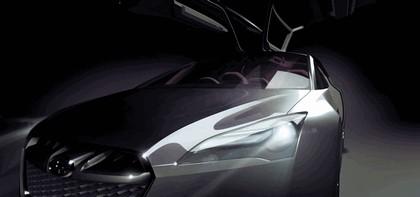 2009 Subaru Hybrid Tourer concept 4