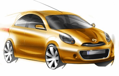 2009 Nissan Micra IV - sketches 1