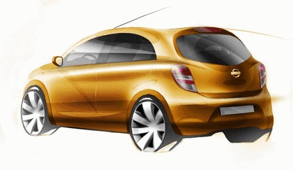2009 Nissan Micra IV - sketches 2