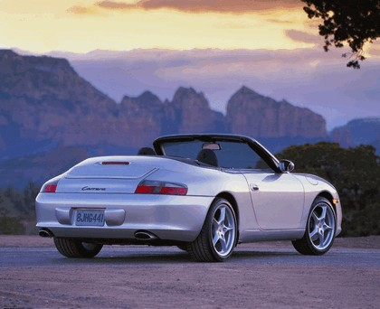 2004 Porsche 911 Carrera cabriolet 6