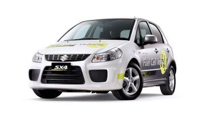 2009 Suzuki SX4 Fuel Cell Vehicle 9