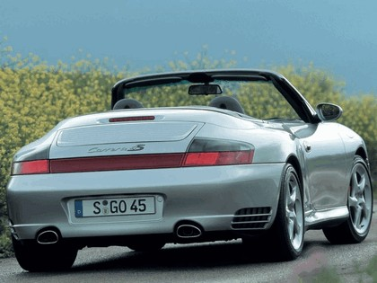 2004 Porsche 911 Carrera 4S cabriolet 8