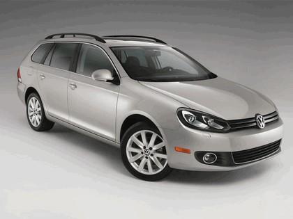 2009 Volkswagen Golf VI Sportwagen 1