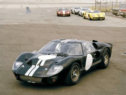 1966 Ford GT40 Le Mans race car 1