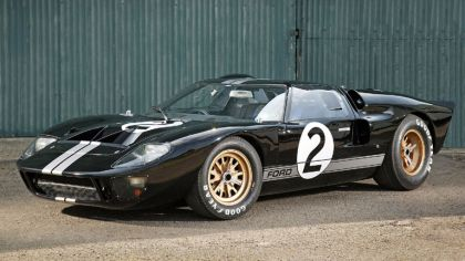 1966 Ford GT40 Le Mans race car 1