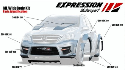 2009 Mercedes-Benz ML63 AMG Wide Body by Expression Motorsport 11