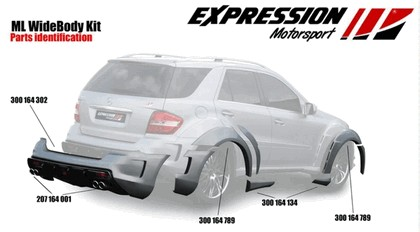 2009 Mercedes-Benz ML63 AMG Wide Body by Expression Motorsport 12