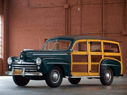 1947 Ford Super Deluxe station wagon 1