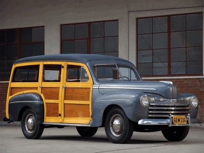 1947 Ford Super Deluxe station wagon 3