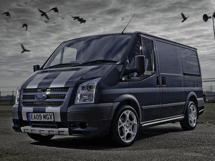 2009 Ford Transit SportVan silver grey - UK version 1