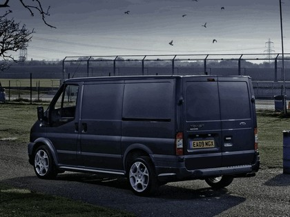 2009 Ford Transit SportVan silver grey - UK version 3