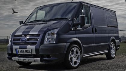 2009 Ford Transit SportVan silver grey - UK version 7