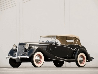 1936 Ford Tourer by Jensen 1