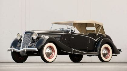 1936 Ford Tourer by Jensen 1