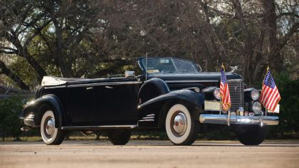 1938 Cadillac V16 Presidential Convertible Limousine 8