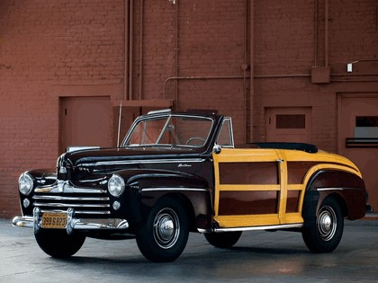 1947 Ford Super Deluxe Sportsman convertible 1